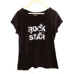 "INC International Concepts ""Rock Star"" Tee Size XL"